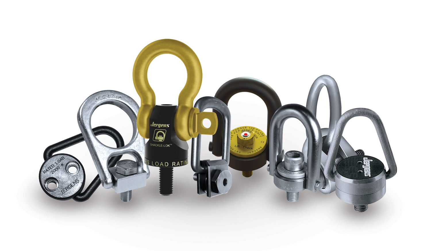 JERGENS - Hoist Rings & Lifting Products